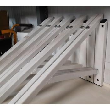 Козырек, антивандальная решетка для кондиционера