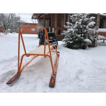 Сани Капитан для мотобуксировщика, мотособаки, снегохода